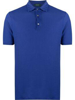 Zanone рубашка поло узкого кроя 812293ZW370