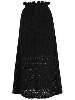 NK трикотажная юбка миди SA080458