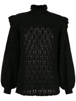 NK блузка с высоким воротником PU020063