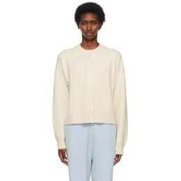 Extreme Cashmere Off-White N°170 Chou Cardigan