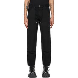 Helmut Lang Black Utility Jeans L01DM205