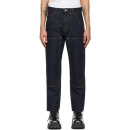 Helmut Lang Indigo Utility Jeans L01DM204