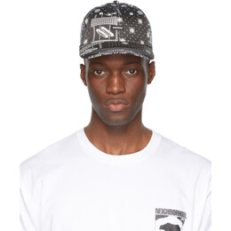 Neighborhood Black Bandana Dad Cap 211YGNH-HT10