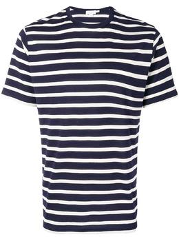 Sunspel футболка в полоску SHORTSLEEVESTRIPEDTSHIRT