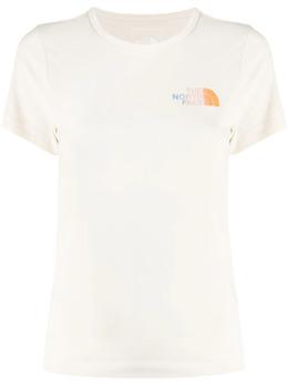 The North Face футболка с логотипом и эффектом деграде NF0A534311P1