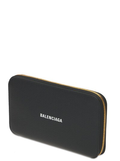 Cash Leather Zip-around Wallet Balenciaga 73IWD2088-MTA5MA2 - 2