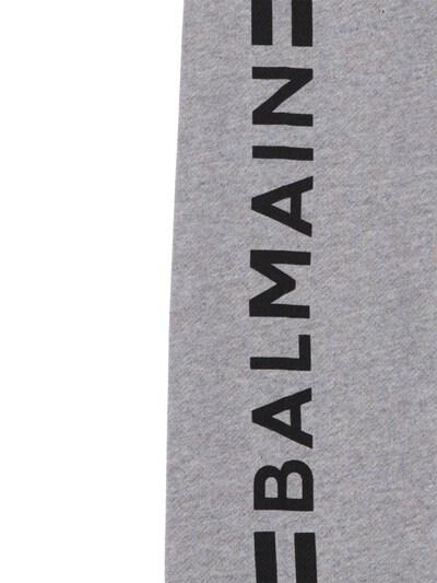 Хлопковые Спортивные Брюки С Логотипом Balmain 73ILX4013-OTA1TkU1 - 3
