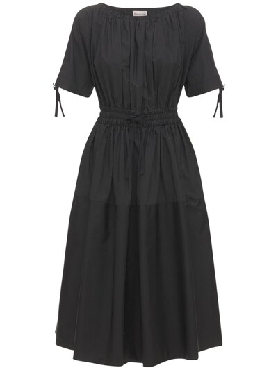 Платье Из Хлопка Поплин И Нейлона Moncler 73IDOR037-OTk50 - 1