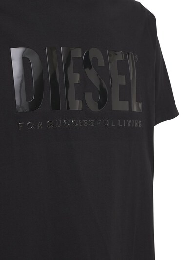 Футболка Из Хлопкового Джерси Diesel 73IBQT025-OVhY0 - 4