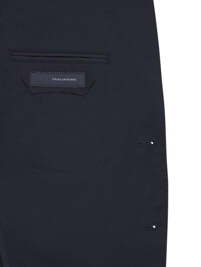 Костюм Из Хлопкового Габардина Стретч Tagliatore 73I0TQ001-QjMyNTA1 - 6