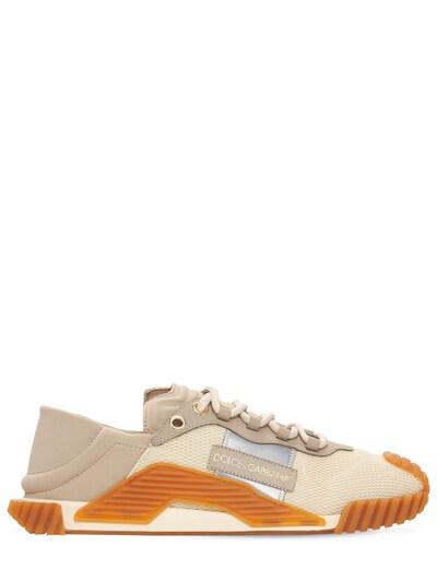 Кроссовки Из Сетки Меш И Кожи Ns1 Dolce&Gabbana 73I0AP004-OEIxNTk1 - 1