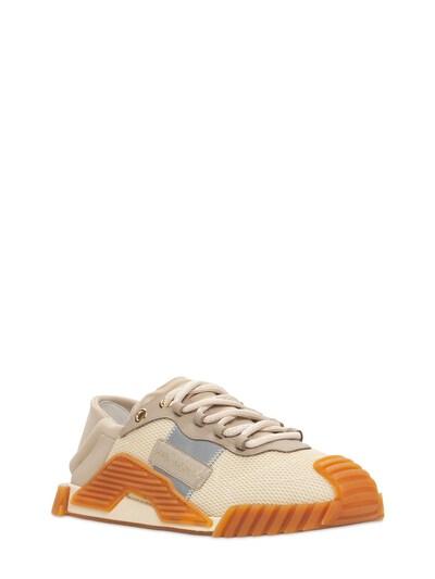 Кроссовки Из Сетки Меш И Кожи Ns1 Dolce&Gabbana 73I0AP004-OEIxNTk1 - 2