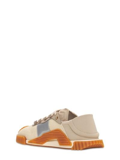 Кроссовки Из Сетки Меш И Кожи Ns1 Dolce&Gabbana 73I0AP004-OEIxNTk1 - 3