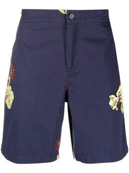 A.P.C. шорты Yanis с цветочным принтом H10155COEOXIAK