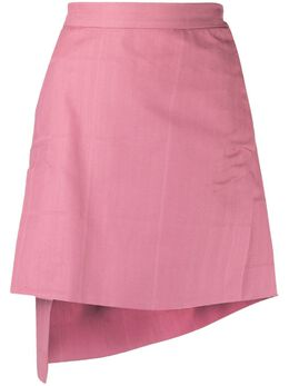 Vivienne Westwood Anglomania юбка мини асимметричного кроя в клетку 1201004511888