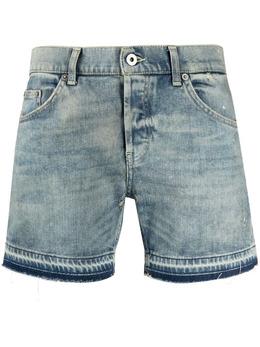 Dondup джинсовые шорты с необработанными краями DP581DS0107DBO2