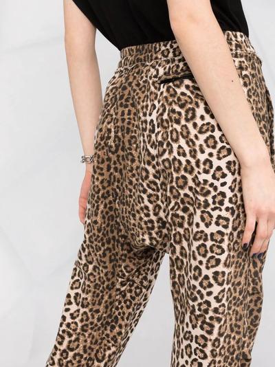 R13 спортивные брюки с леопардовым принтом R13W7616LEP - 3