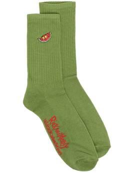 GCDS носки с вышивкой Rick & Morty RM21M010404