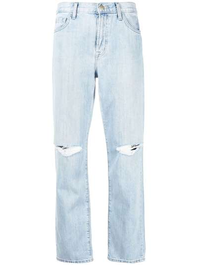 J Brand прямые джинсы с завышенной талией JB002959D - 1