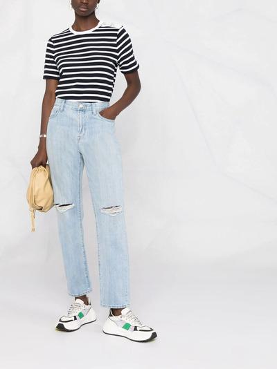 J Brand прямые джинсы с завышенной талией JB002959D - 2