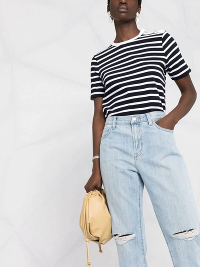 J Brand прямые джинсы с завышенной талией JB002959D - 3