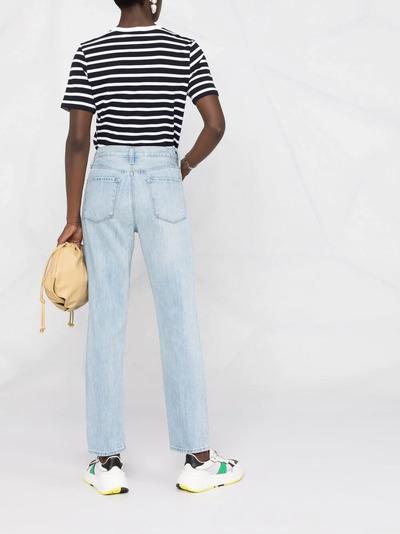 J Brand прямые джинсы с завышенной талией JB002959D - 4