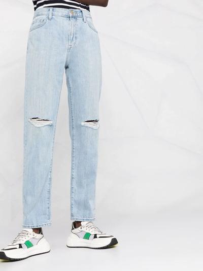 J Brand прямые джинсы с завышенной талией JB002959D - 5