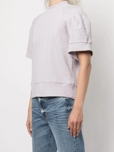 Agolde футболка из футера A7080 - 3