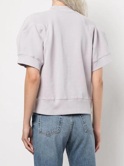 Agolde футболка из футера A7080 - 4