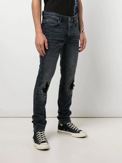 Ksubi прямые джинсы с эффектом потертости 5000005513 - 3