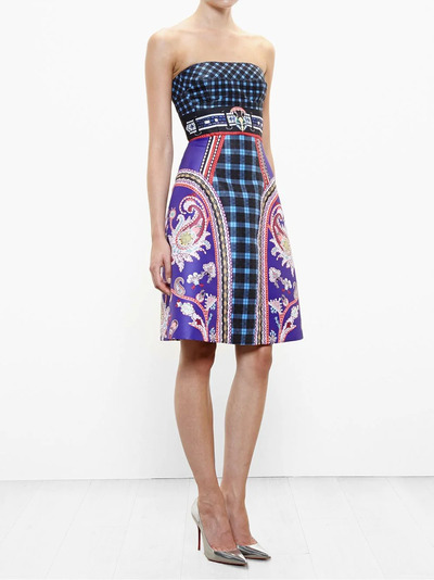 Mary Katrantzou платье-бюстье 'Kelly' PF15RDR0020URDUNAVY - 2