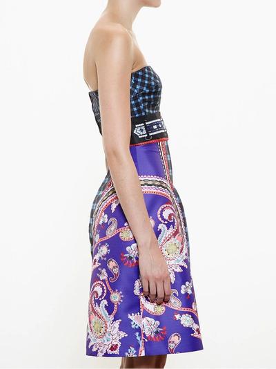 Mary Katrantzou платье-бюстье 'Kelly' PF15RDR0020URDUNAVY - 3