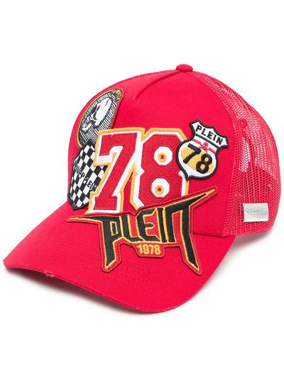 Philipp Plein кепка с нашивками PAAAUAC0091PTE003N - 1