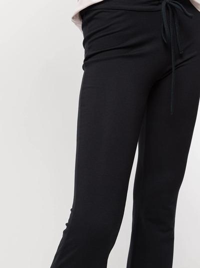 Majestic Filatures расклешенные спортивные брюки с кулиской M003FPA070 - 5