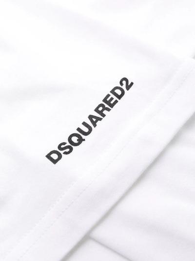 Dsquared2 футболка с короткими рукавами и логотипом D9M203540 - 3