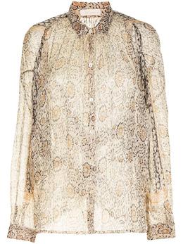 Mes Demoiselles блузка с цветочным принтом HELIOPHILESHIR