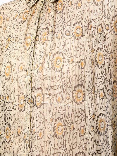 Mes Demoiselles блузка с цветочным принтом HELIOPHILESHIR - 5