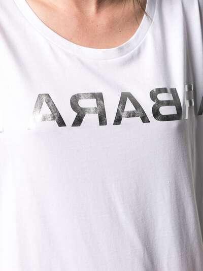 Barbara Bui футболка с логотипом X1468GMF - 5