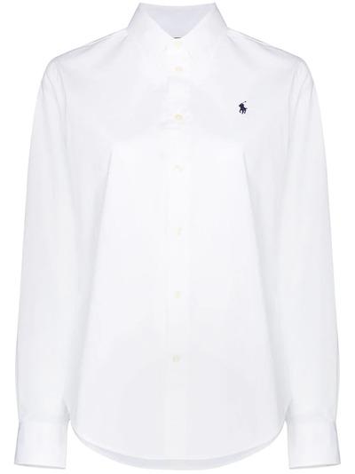 Polo Ralph Lauren рубашка с вышитым логотипом 211806180002 - 1