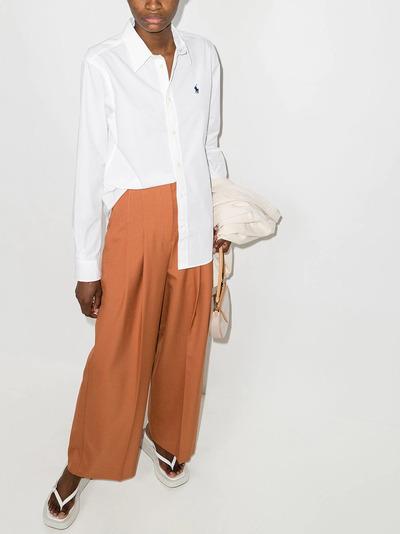 Polo Ralph Lauren рубашка с вышитым логотипом 211806180002 - 5