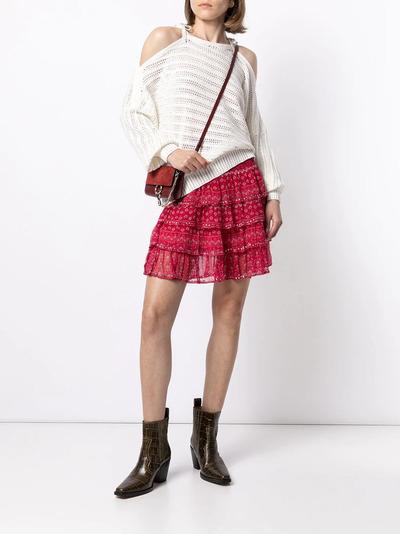 Mes Demoiselles юбка с оборками и цветочным принтом GAUSSSKIRT - 2
