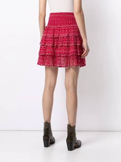 Mes Demoiselles юбка с оборками и цветочным принтом GAUSSSKIRT - 4