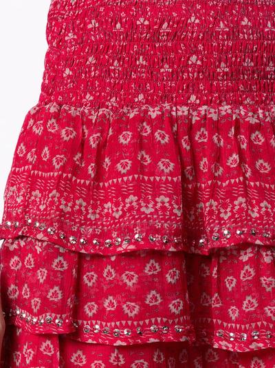Mes Demoiselles юбка с оборками и цветочным принтом GAUSSSKIRT - 5