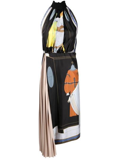 Lanvin платье с принтом The Choice RWDR337I4844P21S1 - 1