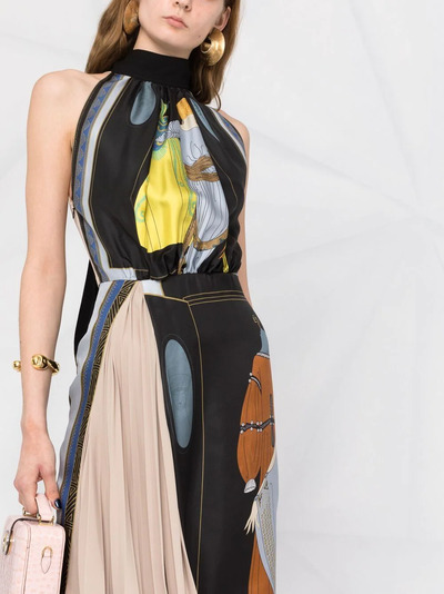 Lanvin платье с принтом The Choice RWDR337I4844P21S1 - 3