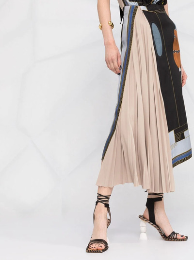 Lanvin платье с принтом The Choice RWDR337I4844P21S1 - 5