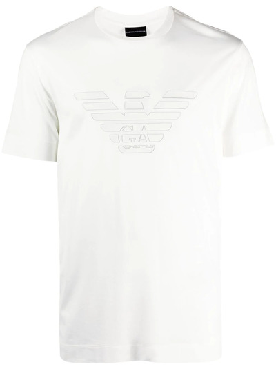 Emporio Armani футболка с логотипом 3K1TAG1JUVZ0162 - 1