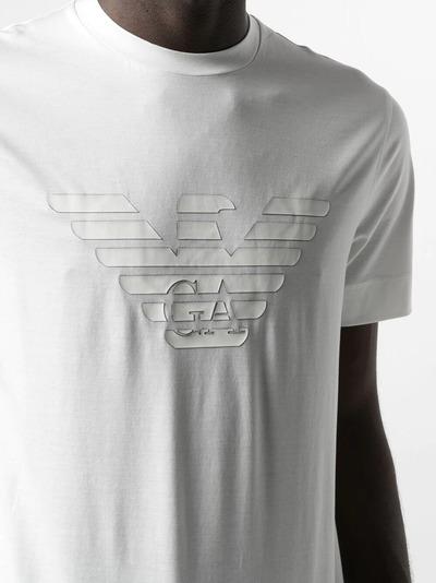 Emporio Armani футболка с логотипом 3K1TAG1JUVZ0162 - 5
