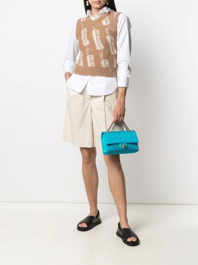 Chanel Pre-Owned сумка-тоут Double Flap 2006-го года CHAN4900 - 2