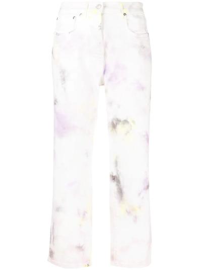 MSGM джинсы с узором 3042MDP144T217482 - 1